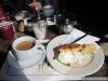 Thé et scone