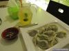 Bouchées vapeur au chou et thé aux kumquats