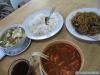 Tom Yam, Nouilles sautées et Soupe de Nouilles au marché