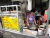 Préparation du Char Koay Teow (nouilles sautées)