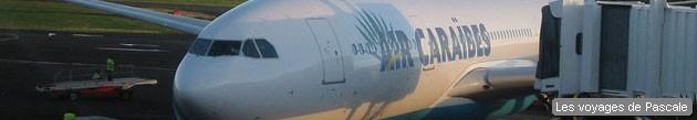 Vol pour la Martinique