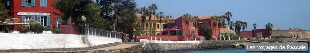 Arrivée sur Gorée