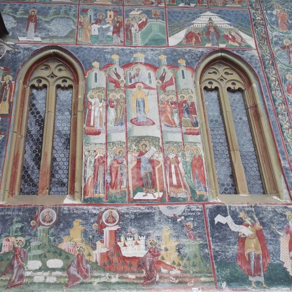 Fresques du monastre de Sucevita