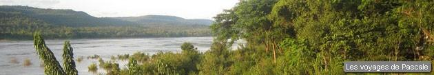 Vue sur le Mékong