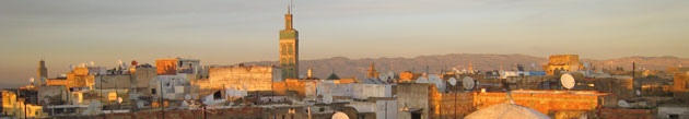 Toits de Meknès
