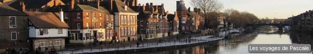 York au lever du soleil