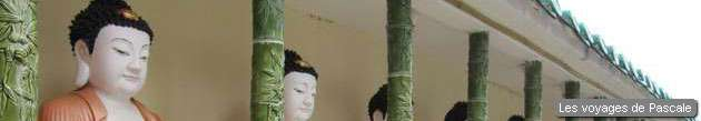 Buddhas du temple de Kek Lok Si