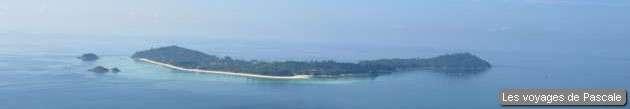 Koh Lipe vue d'en haut