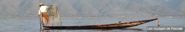 Fameux pêcheur du lac Inle