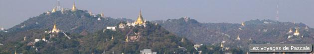 Sagaing et ses pagodes