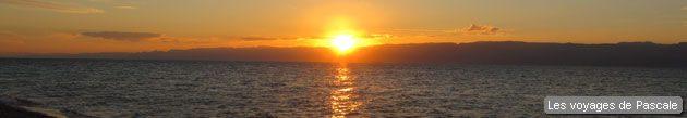 Coucher de soleil à Aqaba