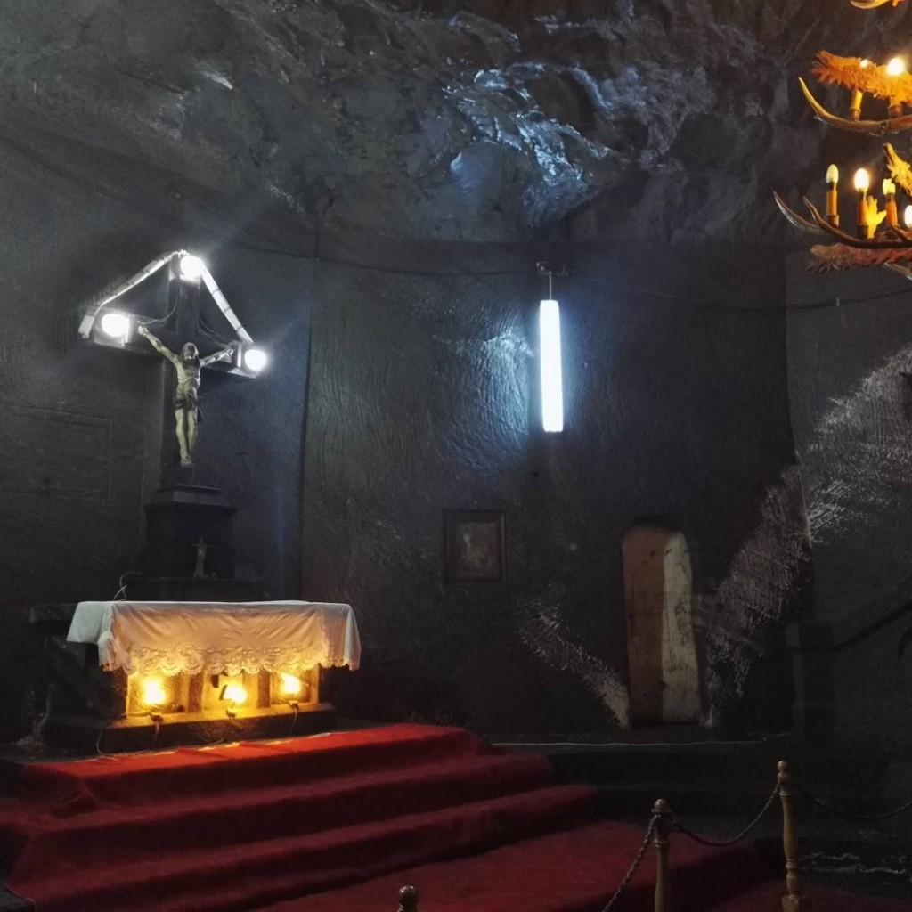 Chapelle dans la mine de sel