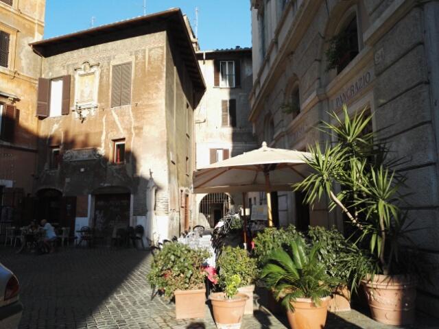 Placette à Rome