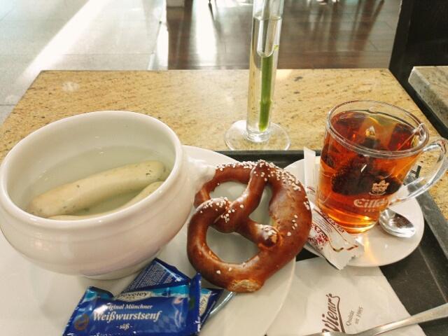 Petit déjeuner bavarois
