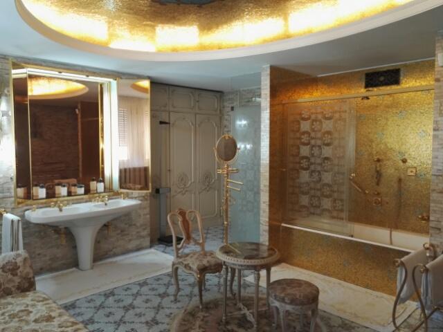 Salle de bain du génie des carpates