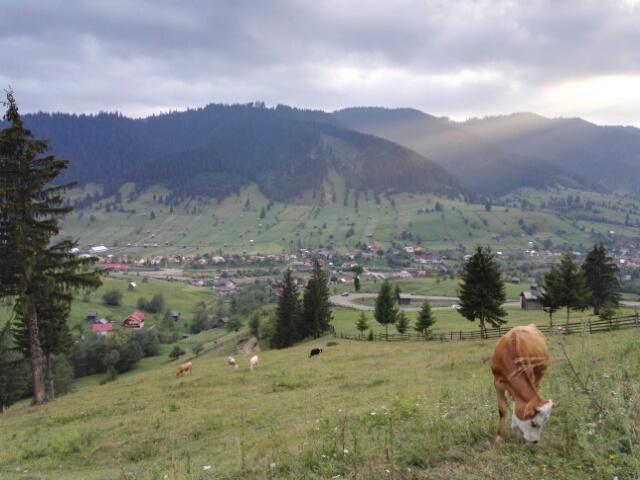 Rayon de soleil sur la vallée de Sadova