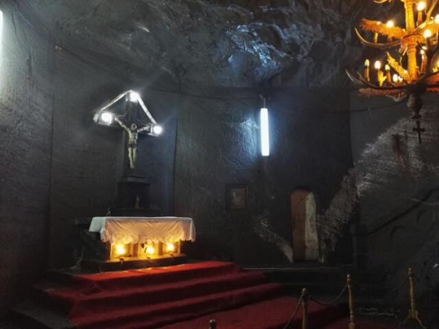 Chapelle dans la mine